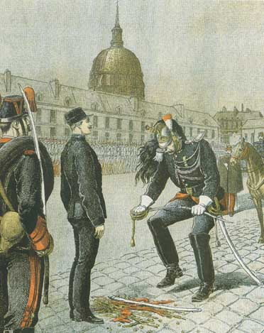 Destitution du Capitaine Dreyfus